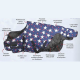 Couverture Poneys imperméable Stars Performance