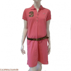 Polo Robe Heras HV Polo rose