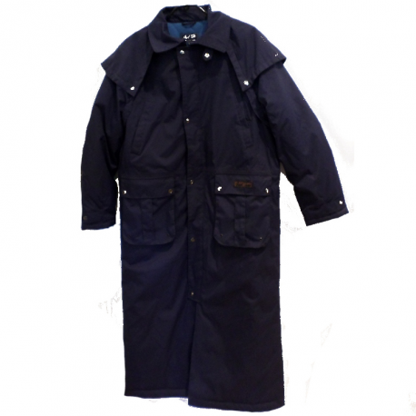 Manteau long Winton Mark Todd marine