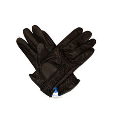 Gants en Cuir Mark Todd marron
