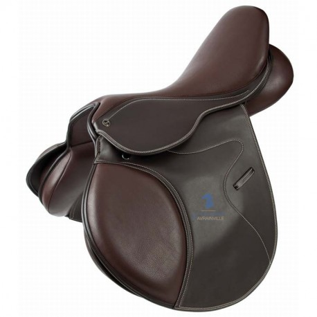 Selle mixte synthétique TdeT marron